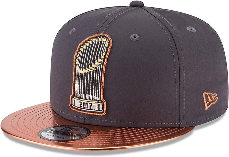 New Era Houston Astros Adjustable 9Fifty MLB Flat Bill Baseball Cap 950