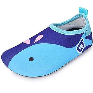 519e34c13a057 SITAILE Chaussures Plage Enfant Fille Garcon Chaussures d eau Chaussures  Aquatiques de Plage Piscine Natation