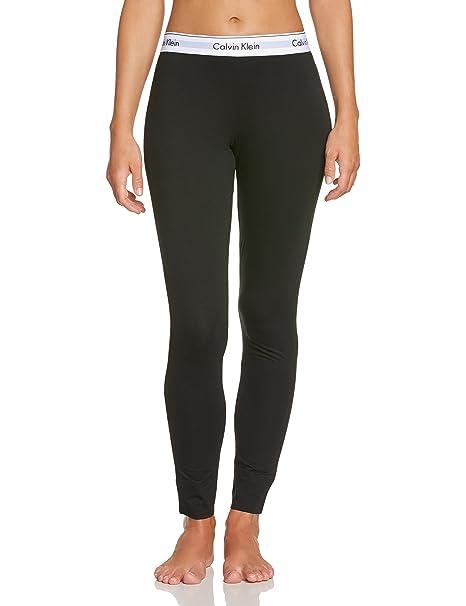 Calvin Klein underwear MODERN COTTON - PJ PANT - Pantalones de pijama para mujer, Black