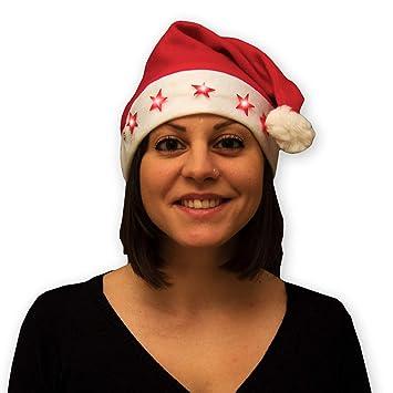 Weihnachtsmützen Weihnachtsmütze Nikolaus-Mütze Christmas mit Bommel 32 2 Stk