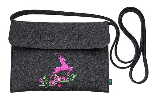 Krings Fashion Filztasche Tracht Dirndltasche Trachtentasche