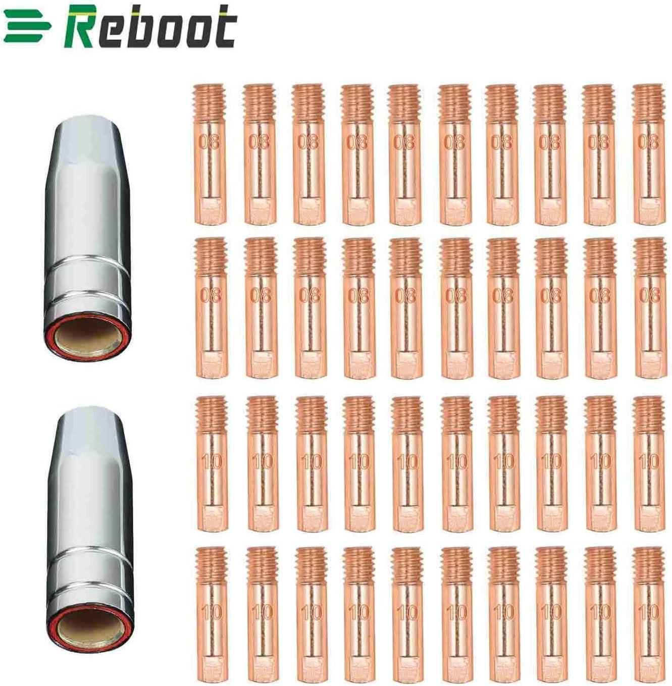 MIG Linterna de soldadura de CO2 MB15 15AK punta de contacto 0.30 Tweco estilo modelo 11-30 20 piezas