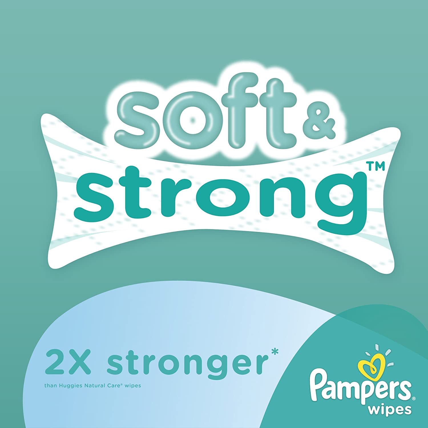 Pampers Baby Fresh Water Baby Wipes 9X Refill Packs 648 Count