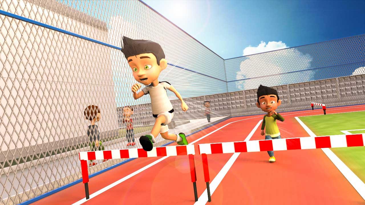 Campeonato de atletismo deportivo de verano de la escuela: nuevos juegos de deportes para niños 2019: Amazon.es: Appstore para Android
