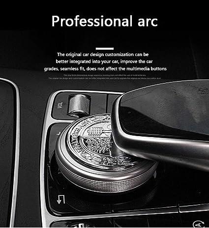 Auto Pro Anwendbar Für Modified 3d Apfelbaum Lenkrad Standard Control Sticker New E New C Interior Multimedia Knopf Dekoration Baumarkt