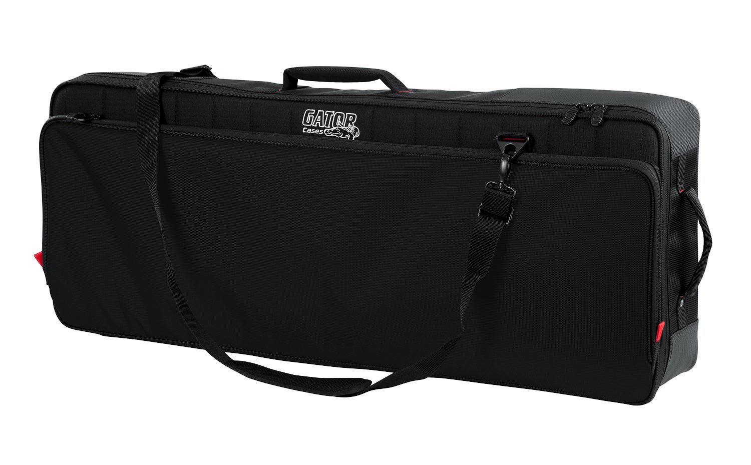 Gator Cases Pro-Go Ultimate Keyboard Gig Bag with Removable Backpack Straps; Fits 49-Note Keyboards (G-PG-49)