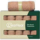 CLEAR REAR The Royal Treatment Bamboo Towel Set (Set of 5) Eco-Friendly, Super Absorbent, Hypoallergenic, Soft…