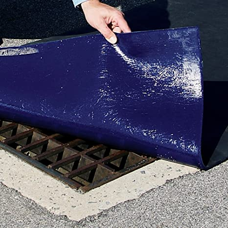 PLR300 Drain Cover Seal 18 x 18 for Square Drains Up to 12 New Pig Drive-Over DrainBlocker Drain Cover