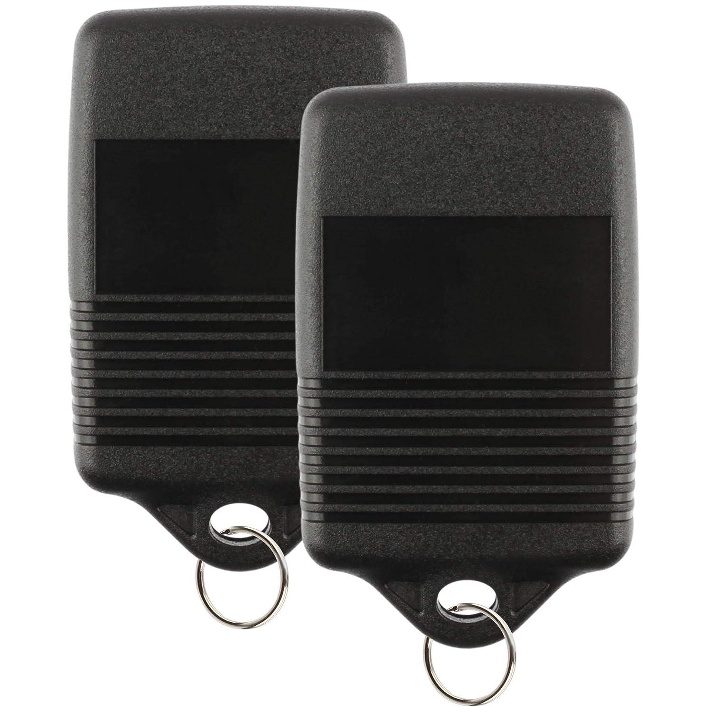 For 92-00 Ford Lincoln Mercury Keyless Entry Remote Key Fob 4btn 3165189 2 PACK GQ43VT4T