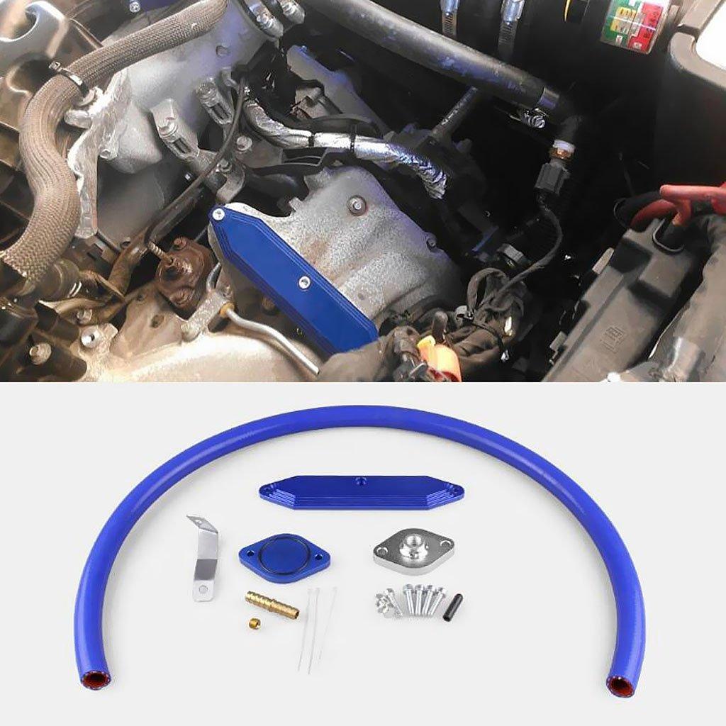 MagiDeal Diesel EGR Delete Cooler Valve Kit for Ford F250 F350 F450 6.7L Powerstroke