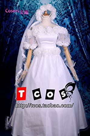 セーラームーン ウェディング ドレス