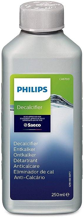 Philips Saeco - Líquido descalcificador para cafeteras monodosis: Amazon.es: Hogar
