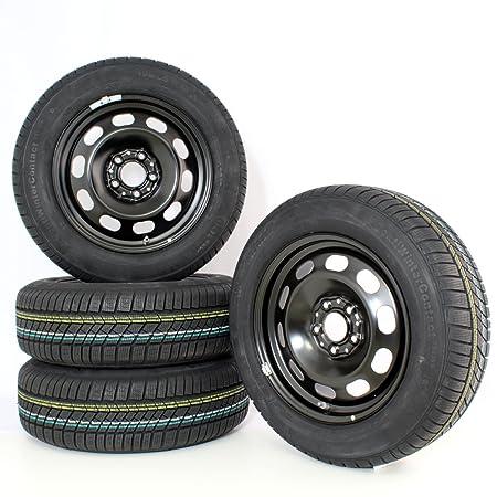 BMW Invierno Completo ruedas (Juego de 4) - Rueda de acero 12 negro 16 pulgadas 2 F45 rdci (sin Tapacubos): Amazon.es: Coche y moto