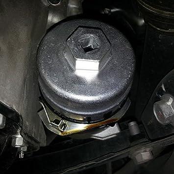 Llave de filtro de aceite para Toyota, Prius, Corolla, Rav4, Auris: Amazon.es: Coche y moto