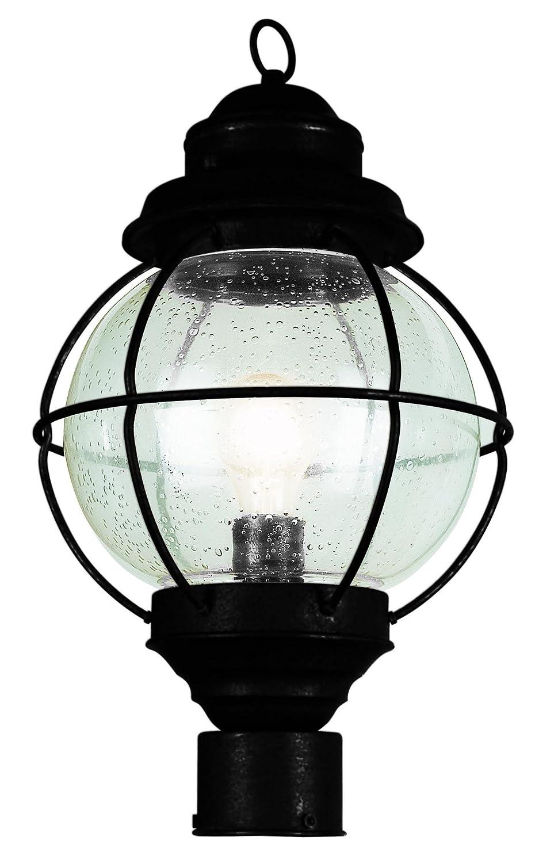 Trans globe lighting 69902 bk 1 light post lantern black trans globe lighting 69902 bk 1 light post lantern black outdoor post lights amazon aloadofball Image collections