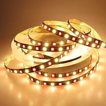 Amazon ledenet flexible rgbww led strip lighting 12v rgb ledenet flexible rgbww led strip lighting 12v rgb warm white led tape lights mozeypictures Image collections