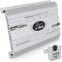 amplificadores para coche Renegade REN 1100 SMk3 Negro, 80-2000 Hz, 50-250 Hz, 0-12 dB