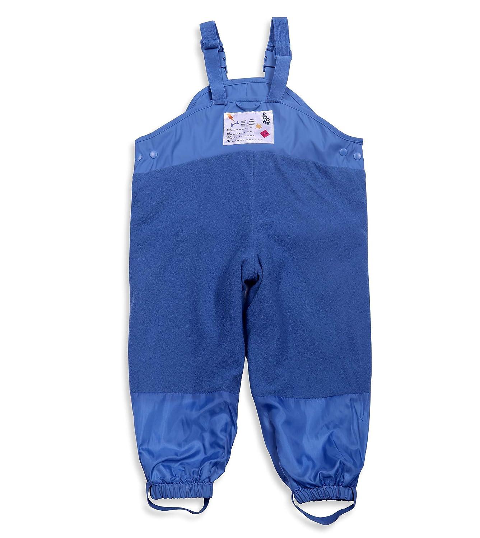cd4e32f95 Amazon.com  DAYU Unisex Kids  Fleece Lined Rain Pants Bibs ...