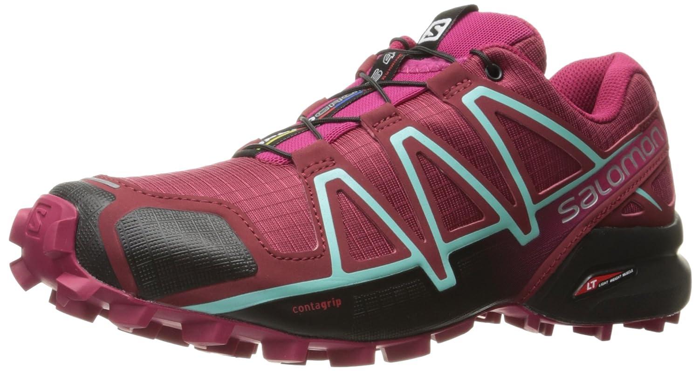 Salomon Femme Speedcross 4 Chaussures de Course à Pied et Randonnée, Synthétique/Textile