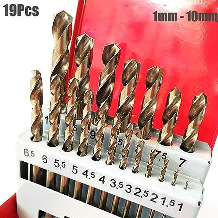 5.5mm 10 pcs Twist Drill bits Metric High speed steel cutting hs hss 5.5 mm New