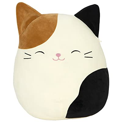 "Kellytoy Squishmallow 8"" Cam The Cat Super Soft Plush Toy Pillow Pet Animal Pillow Pal Buddy: Toys & Games"