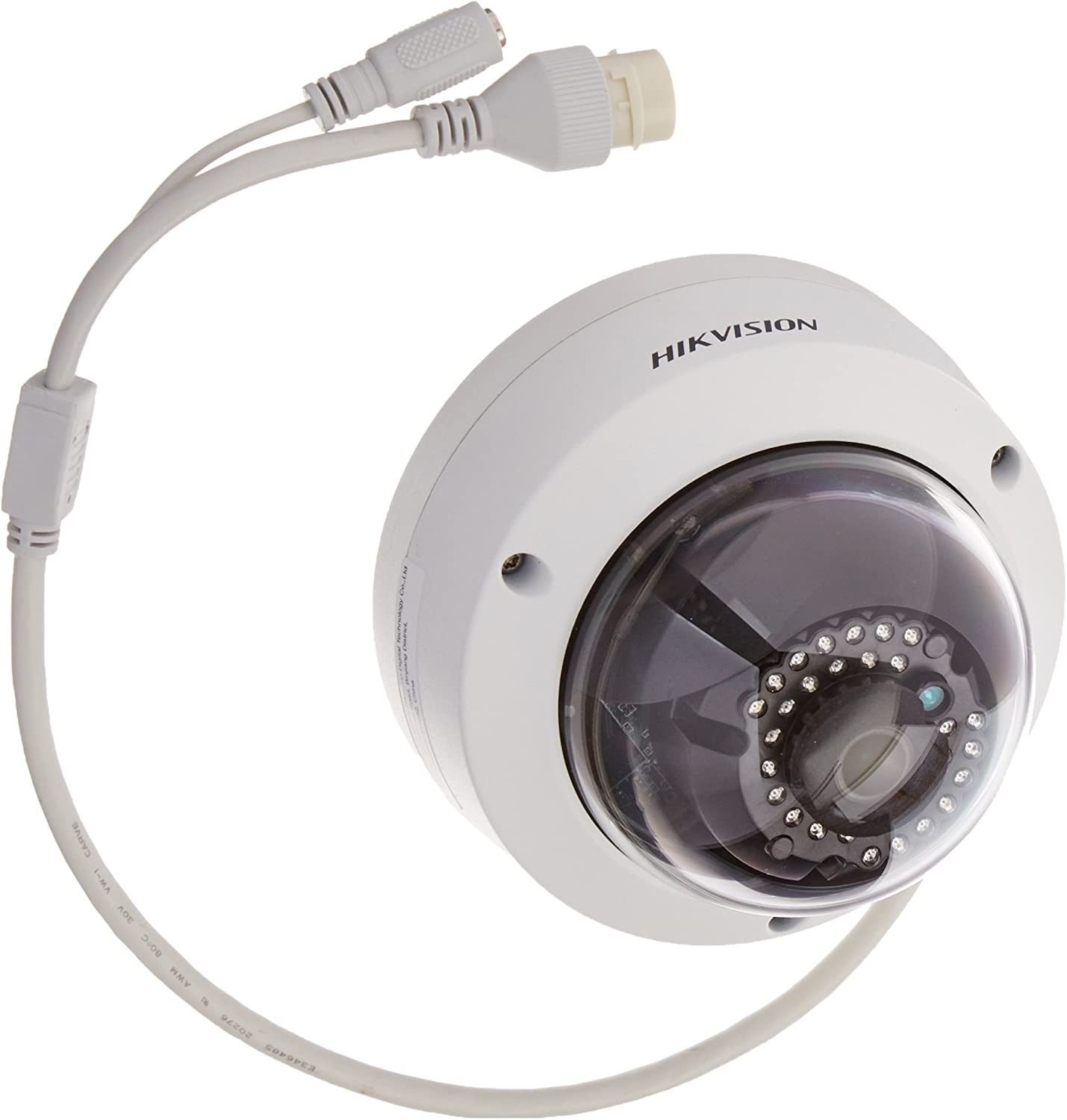 Hikvision DS-2CD2132F-I 3MP HD Outdoor Day Night Vandal-Proof IP Network Dome Camera with 4mm Lens, 2048×1536, 20fps, H.264, MJPEG, PoE
