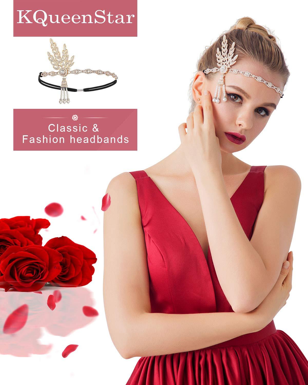 7e46bc7a482e68 1920s Perlen Halskette - 20er Jahre Halskette Damen Gatsby Perlen Kette  Kostüm Accessoires Imitation Lange Perlen Kette Retro Hochzeit Braut  Halskette mit ...