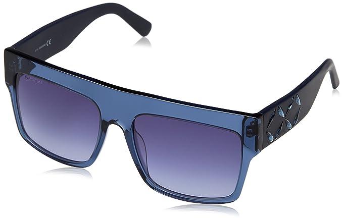 Swarovski SK0128-5690W, Gafas de Sol para Mujer, Shiny ...