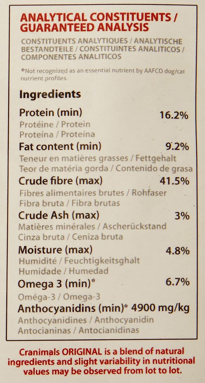 Amazon.com : Cranimals Original Organic Supplement for Dogs and Cats 4.2 oz (2 Pack) : Pet Supplies