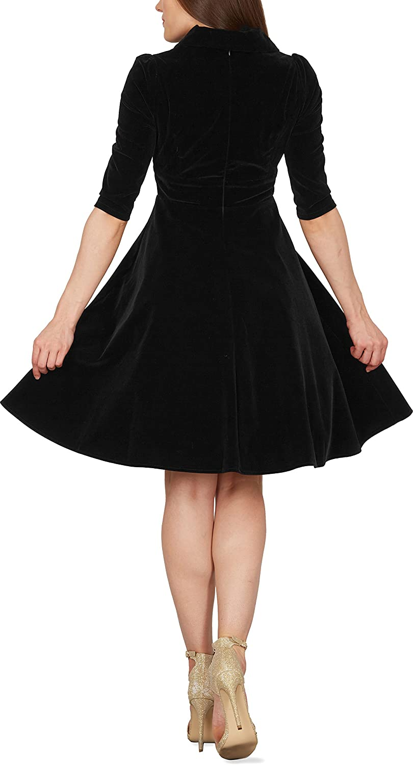 BlackButterfly Abito Pin-up Vintage Amelia Clarity