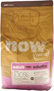 Now! 815260003544 Fresh Grain Free Food Bag For Adult Cat, 4-Pound