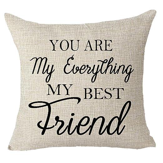 Fringcoook Mejor regalo para hermana amiga que eres mi todo ...