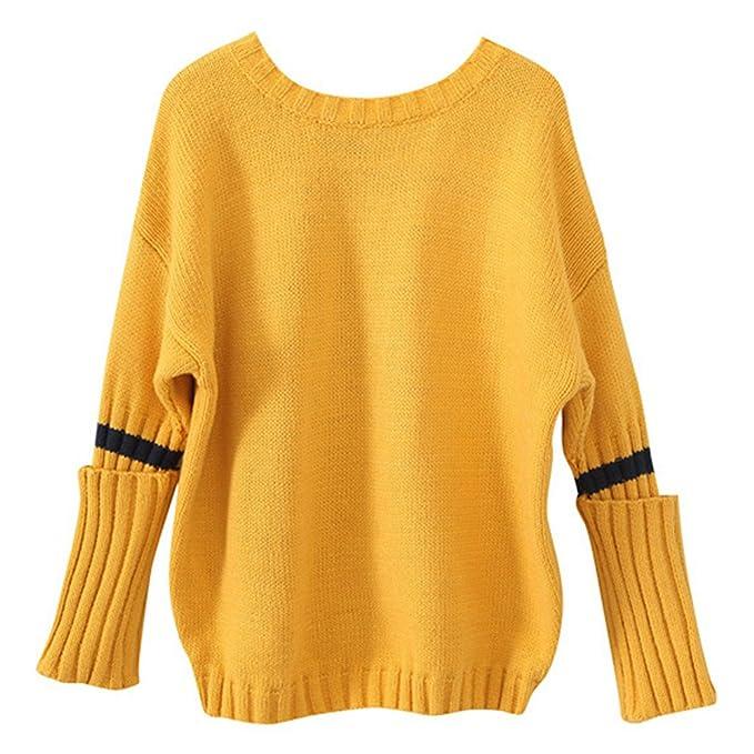cheap for discount b714e ee20c QJH - Maglione - Maniche lunghe - ragazza Yellow 13-14 anni ...