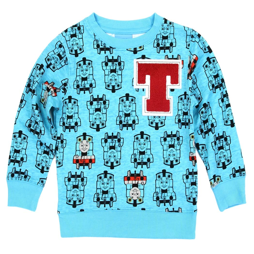 Thomas The Train Toddler Little Boys All Over Print Sweatshirt Sweater