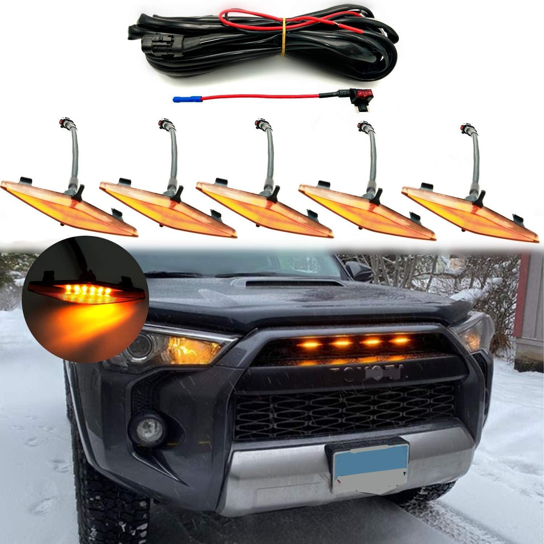 Led Lights 5 PCS for 2014-2020 Toyota 4Runner TRD Pro Grille ...