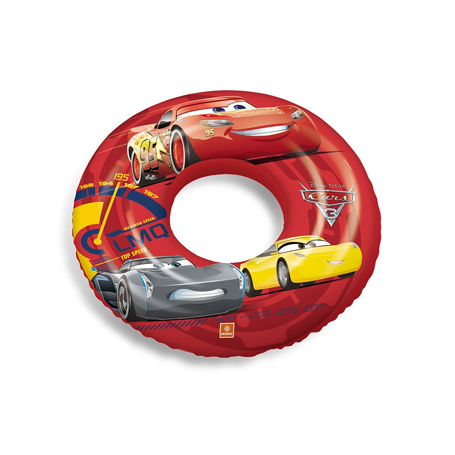 Cars Cars-16242 Flotador Hinchable, Multicolor, 50 cm (Mondo SPA 16242)