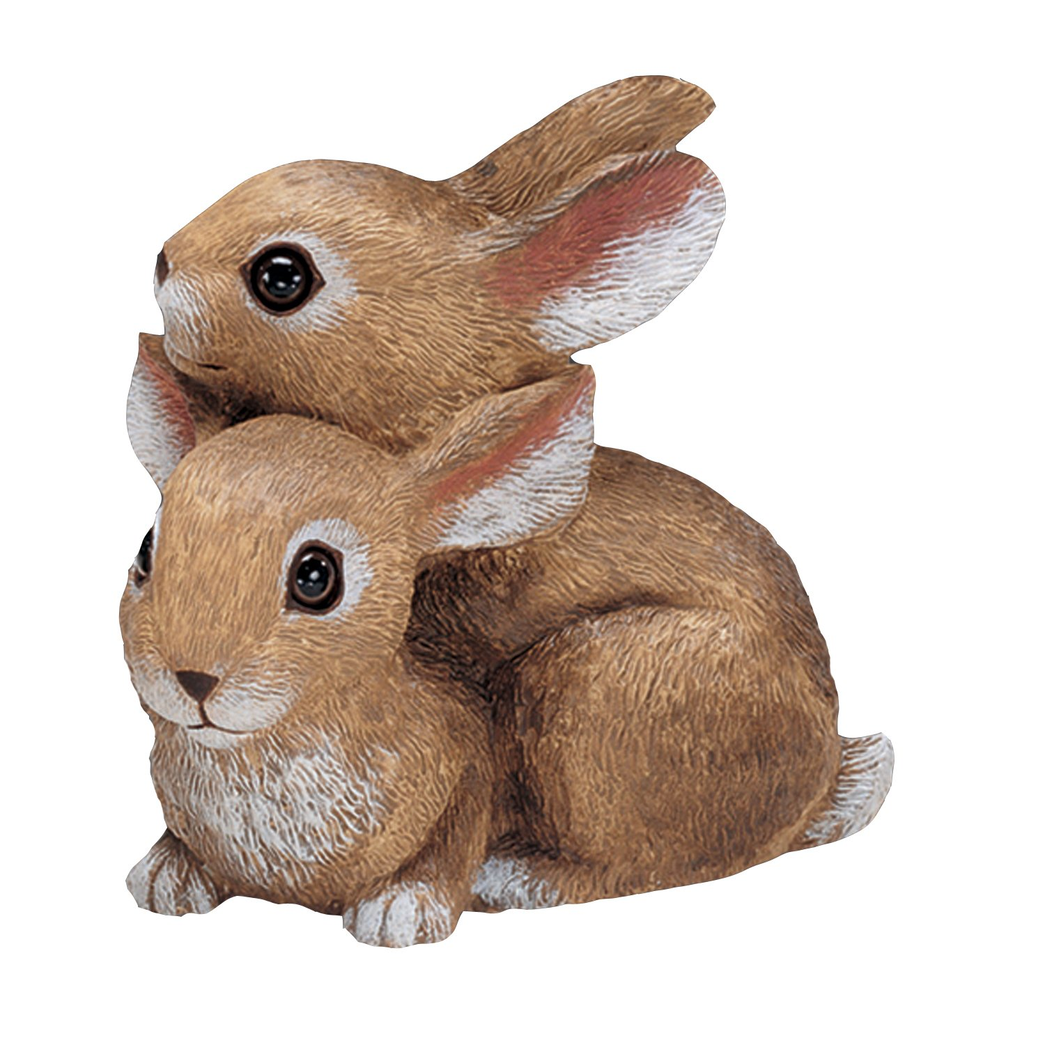 Amazon.com : Sculptural Gardens By Heritage Farms Bunnies Playing Statuary  : Outdoor Statues : Garden U0026 Outdoor