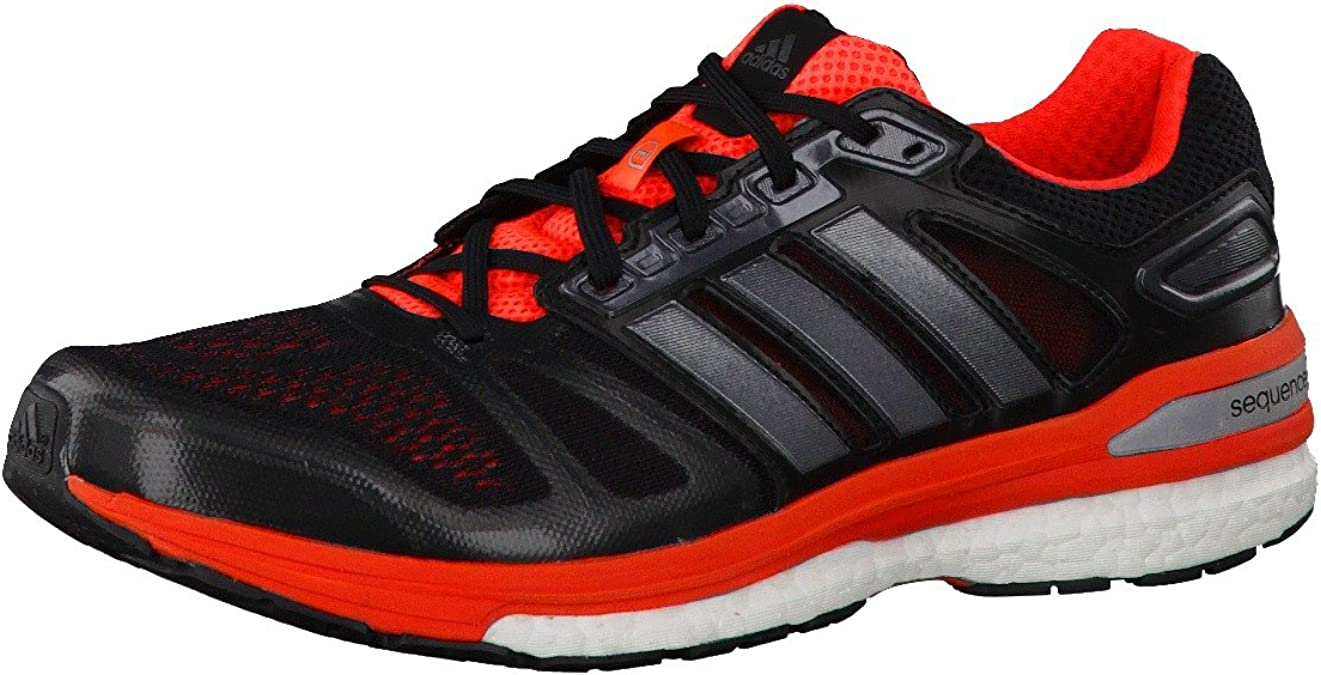 adidas Supernova Sequence 7 m, BLACK1/CARMET/INFRED: Amazon.es ...