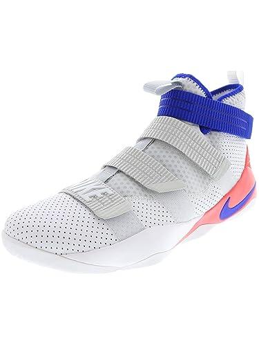 buy online 92095 3ff74 Amazon.com | Nike Men's Lebron Soldier Lx SFG White/Racer ...