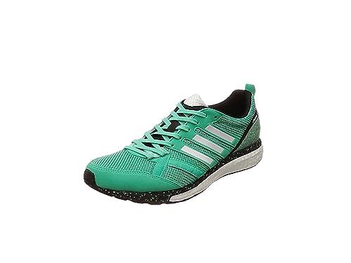 adidas Adizero Tempo 9, Zapatillas de Running para Hombre, Verde (Bgreen/Ftwwht/Hiregr), 46 2/3 EU: Amazon.es: Zapatos y complementos