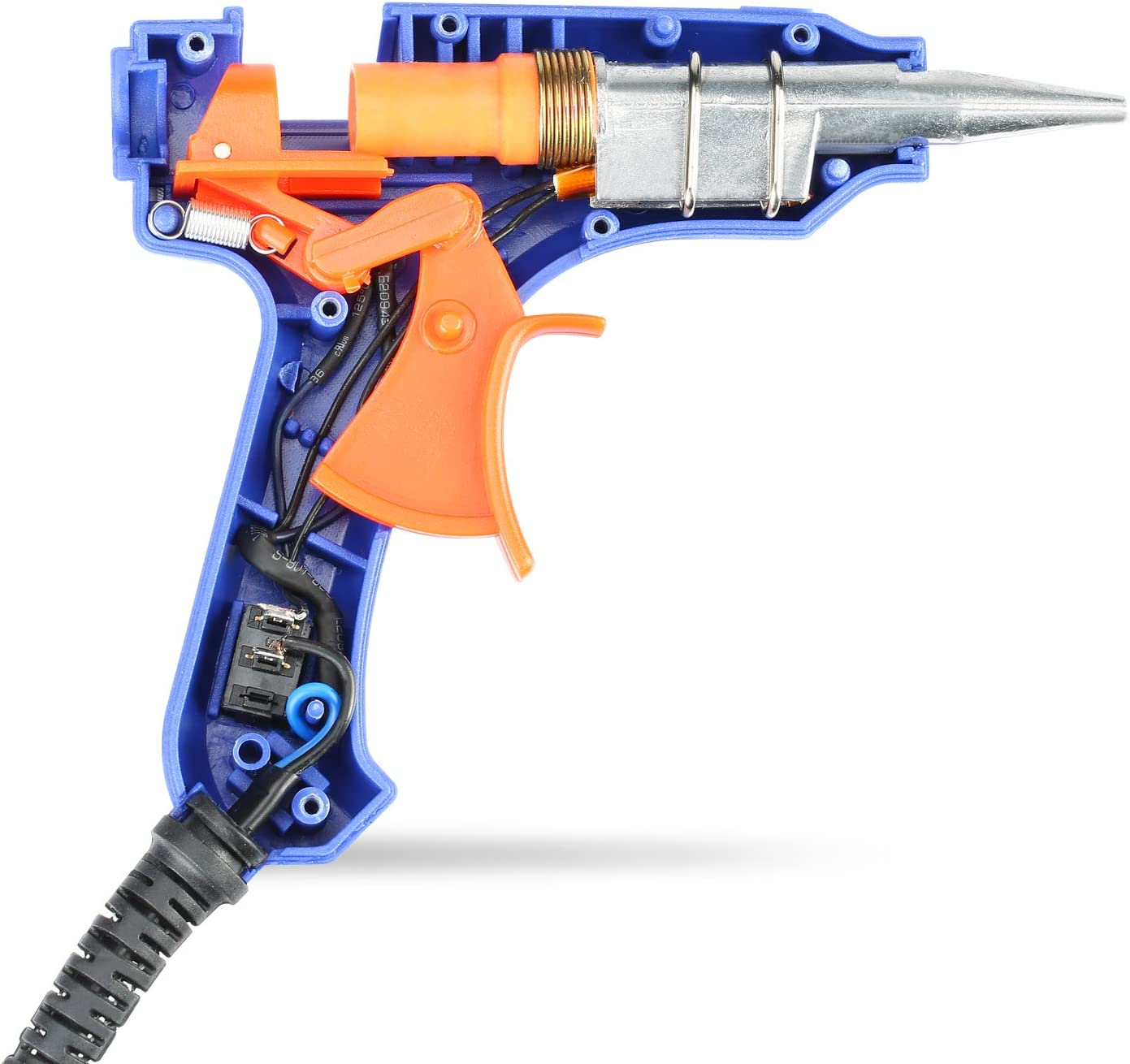 Homitt 20W Klebepistole mit 50 St/ück Klebesticks Mini Hei/ßklebepistole f/ür DIY Anf/änger und Handwerksprojekte 7mm Hei/ßklebepistole