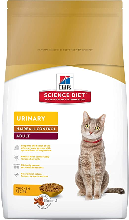 science diet urinary tract hairball cat food canned
