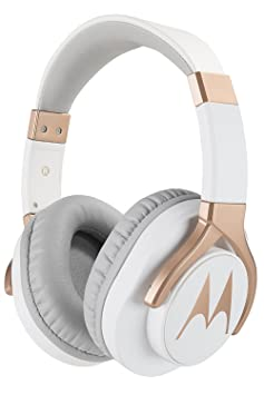 Motorola Pulse 3 Max Wired Headphones (White) Over-Ear Headphones at amazon