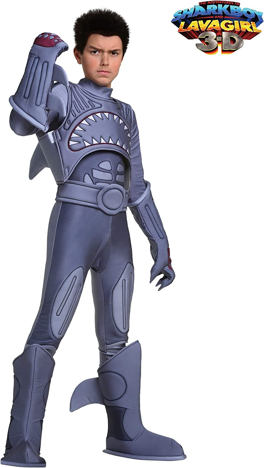 Sharkboy Costume Kids Sharkboy and Lavagirl Costume Officially Licensed