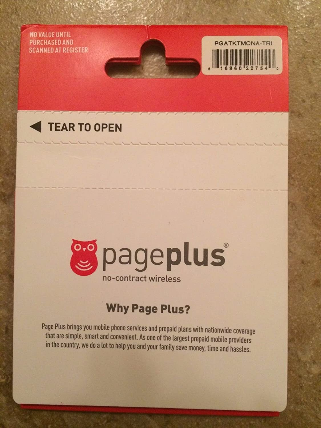 Page Plus Cellular information and highlights