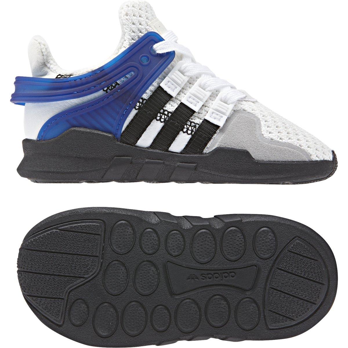 adidas Originals Kids Baby Boy's EQT Support ADV (Toddler) White/Black 6.5 M US Toddler by adidas Originals