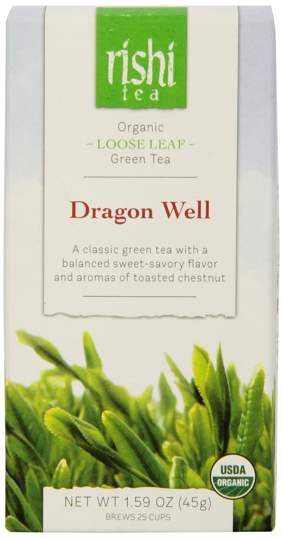 Rishi Tea Dragon Well, 1.59 Ounce