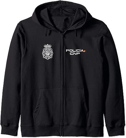 Camiseta de Policia Nacional España Sudadera con Capucha: Amazon.es: Ropa y accesorios