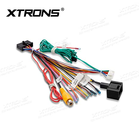 amazon com xtrons iso wiring harness adaptor connector cable wire rh amazon com