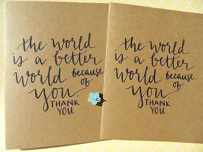 Amazon Com Thank You Cards Friendship Cards Inspirational Cards